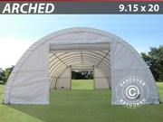 Storage Shelter 9.15x20x4.5 m PVC 600 g/m²